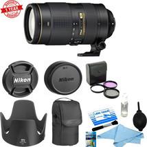 Nikon AF-S NIKKOR 80-400mm f/4.5-5.6G ED VR Lens Starter Deluxe kit - $2,256.21