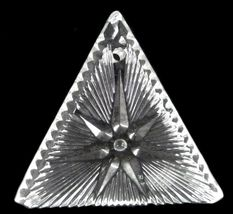 Waterford Crystal Ornament 2000 Times Square Triangle Star of Hope Collectible image 6