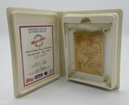 Marshall Faulk 1994 Topps Rookie Highland Mint Bronze Mint Card 2472/250... - $22.65