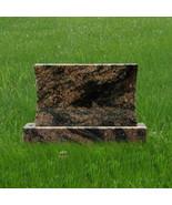 Headstone Granite Aurora Concave Pet Mini Gravestone Tombstone Marker MN... - $492.53