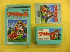 Wario's Woods Complete in Box CIB (Nintendo Famicom FC NES, 1994) Japan Import - $23.05