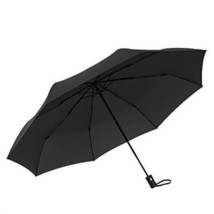 JunSin Automatic Umbrella, One Button Easy to Open and Close, Black - $16.09