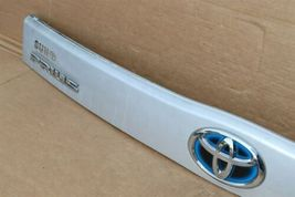 2010-15 XW30 Prius Trunk Lift Gate Handle Garnish Trim Panel Tag Light Cover image 6