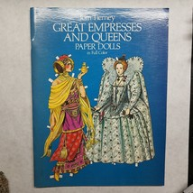 Great Empresses And Queens Paper Dolls In Full Color by Tom Tierney 1982 - $8.81