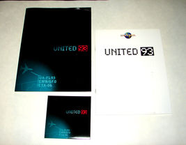 2006 UNITED 93 Movie PRESS KIT - Folder, Disc, and Production Notes Hand... - $13.49