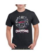 Buffalo Bills AFC East Division Champions 2020 Football Men's T-Shirt S-5XL - $13.85+