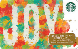 Starbucks 2016 JOY Collectible Gift Card New No Value - $4.99
