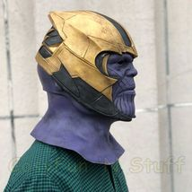 New Endgame Thanos Mask Infinity War Avengers EndGame Costume Mask Handmade image 2