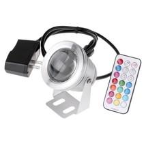 IP67 1000LM 10W RGB LED Underwater Fountain Light Spotlight Timing Pool ... - €21,13 EUR