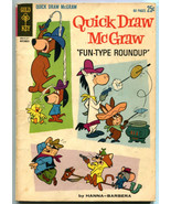 Quick Draw McGraw Fun Type Roundup 12 VG+ 4.5 Gold Key 80 Pages 1962 - $24.74