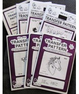 Punch Embroidery Transfers YOUR CHOICE - $1.00