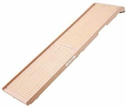 PetSTEP Non-Slip Plastic Original Folding Pet Ramp, Beige (Open Box) - $89.88