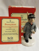 Royal Doulton Businessman Bunnykins DB-203 Limited Edition 2057 of 5,000 w COA - $39.55
