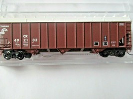 Micro-Trains # 10800410 Conrail 100-Ton 3-Bay Open Hopper with Topper N-Scale image 1