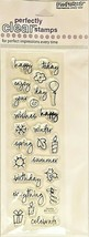 Stampendous Everything Happy Clear Stamp Set #SSC659 - $4.99
