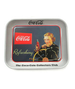 Coca-Cola 24 National Collectors Convention Tray Woman at Wheel of Boat - $9.90