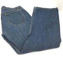 Gap Low Rise Capri Stretch Denim Blue Jeans Medium Wash Women's 6 Regular  - $9.38