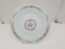"Liling Fine China Dinner Plates Set of 4 Yung Shen White Roses Keepsake 10 5/8"" image 2"