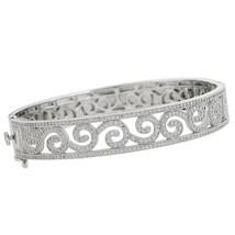 Lafonn's Designer Scrolled Cubic Zirconia Bracelet - $544.50
