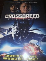 Crossbreed This is War 2018 DVD NEW Sealed NTSC Alien action sci-fi Unco... - $7.66