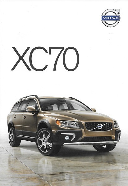 2014 Volvo XC70 sales brochure catalog folder US 14 3.2 T6 AWD