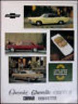 1966 Chevrolet Color Brochure Impala Corvette Chevelle Original GM 66 - $21.17