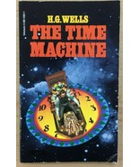 THE TIME MACHINE by H.G. Wells (1978) Scholastic SF pb - $9.89