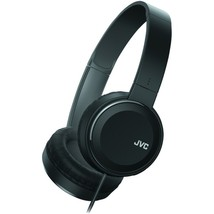 JVC HAS190MB Colorful On-Ear Headphones (Black) - $39.75