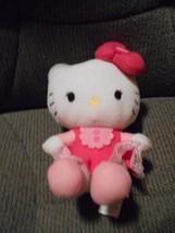 "Sanrio Plush Hello Kitty Stuffed Toy Animal 7"" Tall - $5.53"