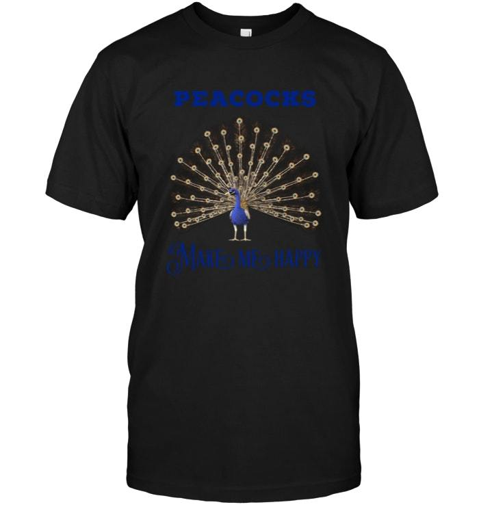 Primary image for Peacocks Make Me Happy T Shirt