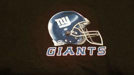 NEW YORK GIANTS   New with tags SKY HELMET T Shirt BLACK shirt NFL TEAM APPAREL image 3