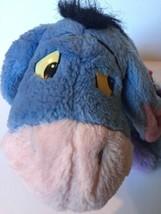 Vintage 1994 Mattel Disney Eeyore Honking Plush Detachable Tail Stuffed ... - $19.37