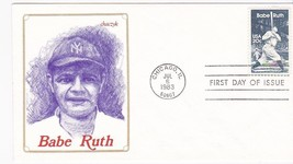 BABE RUTH #2046 CHICAGO, IL JULY 6, 1983 CHACZYK #376/1250 CACHET D-275 - ₹217.21 INR
