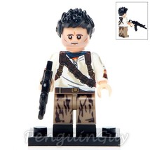 "Custom Nathan ""Nate"" Drake Minifigure Naughty Dog Video Game Fits Lego U... - $3.49"