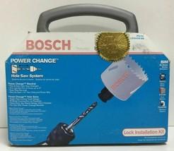 (New) Bosch PCL101 Power Change Bi-Metal Hole Saw System Damage little box - $48.50