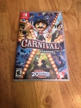 Nintendo Switch Carnival Games 2018 2K, Brand New Sealed - $19.39