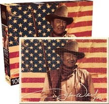 John Wayne and American Flag Western Photo 1000 Piece Jigsaw Puzzle NEW ... - $14.50