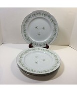 "4 Dinner Plates 10"" Forever Spring Johann Haviland Barvaria Germany Floral - $24.18"
