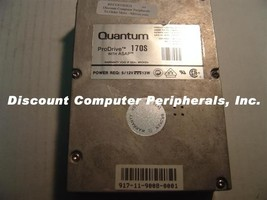 QUANTUM PRO 170S 170MB 3.5 SCSI 50PIN Drive Tested Good Free USA Shipping