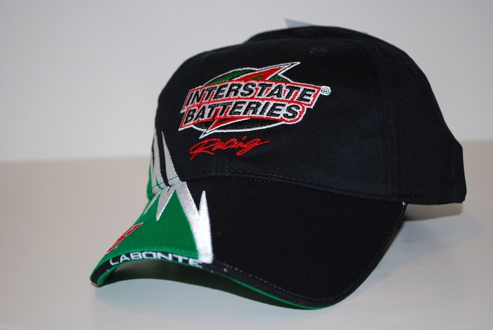 NASCAR Chase Authentics Interstate Batteries #18 Bobby Labonte Racing Cap Hat
