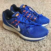 Nike Zoom Structure 19 Shoes Women Size 9.5 Blue Running Athletic - $34.88