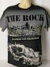 Alcatraz The Rock Prison Vintage 90s Souvenir Graphic Tee T-Shirt Size M... - $24.74