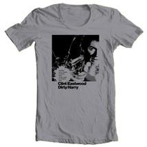 Dirty Harry T-shirt Clint Eastwood retro 1970's Free Shipping cotton graphic tee image 1