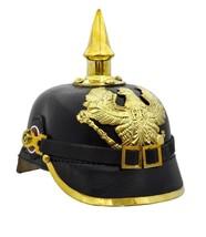 Leather German Pickelhaube Helmet Prussian Pickelhaube WW1 Helmet - $117.81