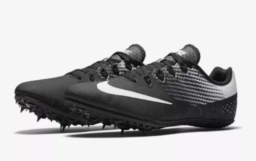 reputable site e18db 9581b 12. 12. Previous. Nike Zoom Rival S 8 MENS Track Field Sprint Shoes Black  White 806554-011 Size