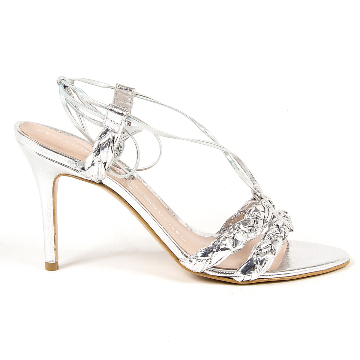 Primary image for V 1969 Italia Womens Sandal Silver LETITIA