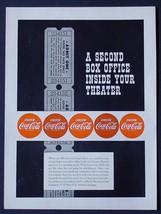 "MEGA RARE 1951 COKE COCA-COLA AD! 9"" x 12"" PROMOTIONAL ADVERTISEMENT THE... - $19.26"
