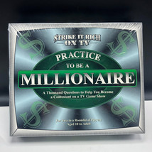 TDC GAMES PRACTICE TO BE A MILLIONAIRE new sealed trivia board strike ri... - $17.82