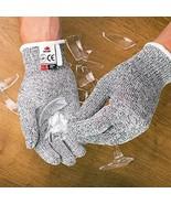 Cut Protection Safe Gloves Cut Resistant Kitchen Use Gloves Secure-Grip ... - $24.35