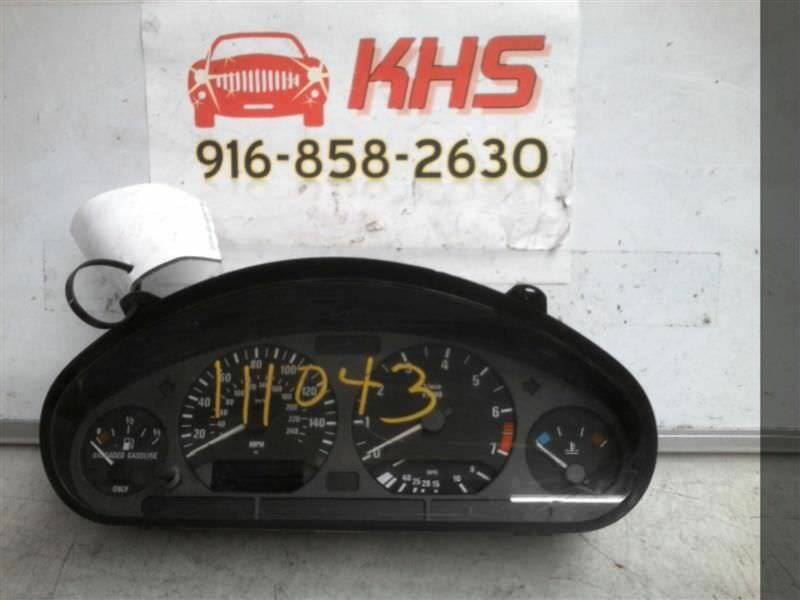 Primary image for Speedometer Cluster Coupe MPH US Market Fits 96-99 BMW 318i 218981